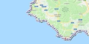 Cilento Mappa
